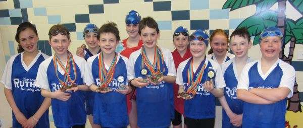 Diddy Gala - Ruthin swimmers